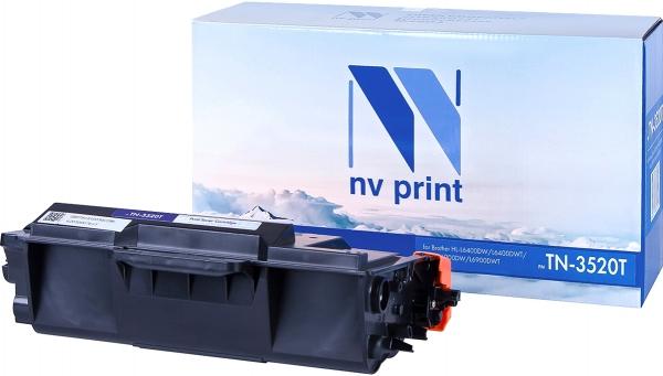 Картридж совместимый NVPrint TN-3520T для Brother