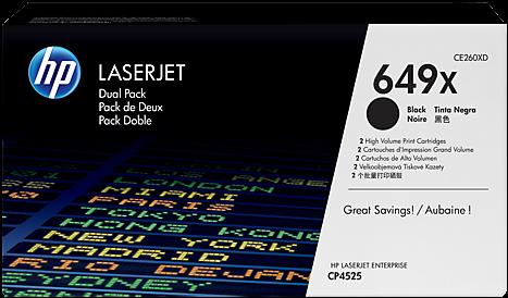 Картридж HP CE260XD чёрный двойная упаковка оригинальный