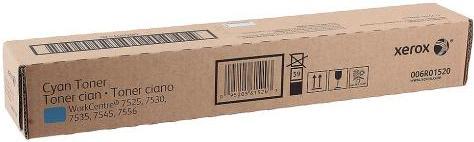 Тонер-картридж XEROX 006R01520 голубой оригинальный DIL для WC 7545/7556