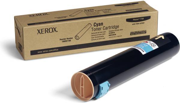 Картридж XEROX 106R01160 голубой оригинальный