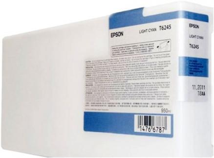 Картридж EPSON C13T624500 светло-голубой оригинальный
