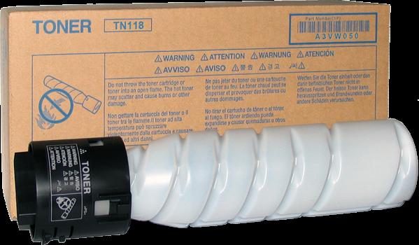 Тонер-картридж Konica Minolta TN-118 оригинальный (2 шт в уп.) для bizhub 215