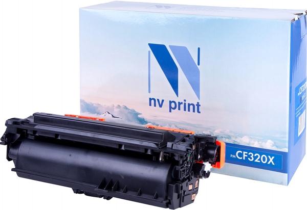 Картридж совместимый NVPrint CF320X для НР черный