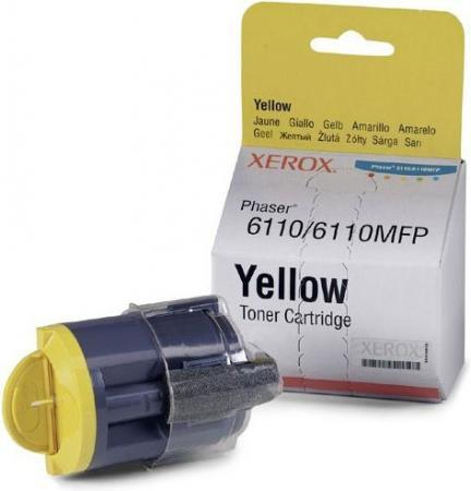 Картридж XEROX 106R01204 желтый оригинальный