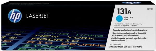 Картридж HP CF211A синий оригинальный
