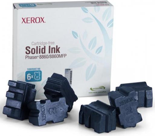 Картридж XEROX 108R00817 голубой 6шт. оригинальный