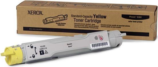 Картридж XEROX 106R01216 желтый оригинальный