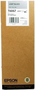 Картридж EPSON C13T606700 серый оригинальный