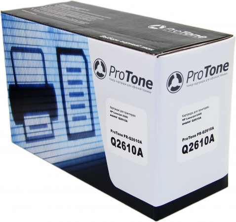 Картридж HP Q2610A черный совместимый ProTone