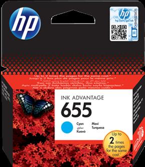 Картридж HP CZ110AE голубой оригинальный