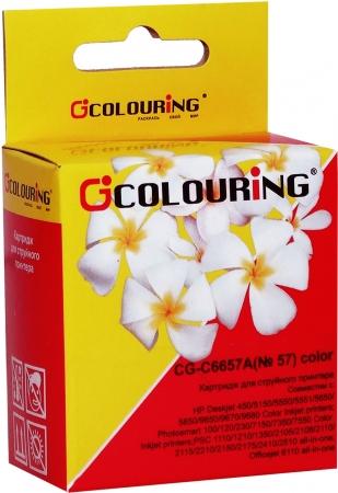 Картридж совместимый Colouring C6657A для HP Color