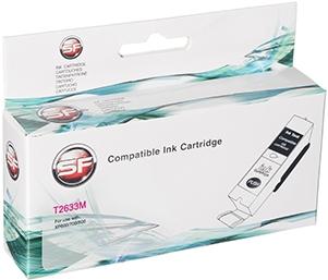 Совместимый картридж SuperFine T2633 пурпурный для Epson