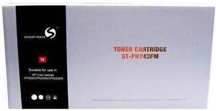 Картридж совместимый Smart Mate CE743A черный (307A) красный для HP