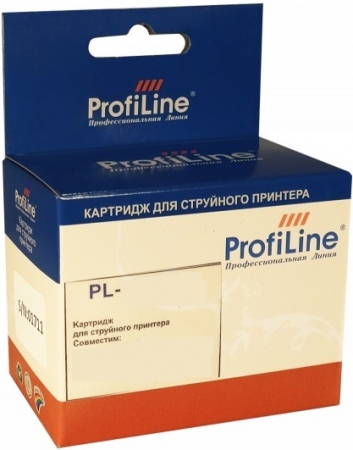 Картридж совместимый ProfiLine BCI-3e/5/6 для Canon голубой
