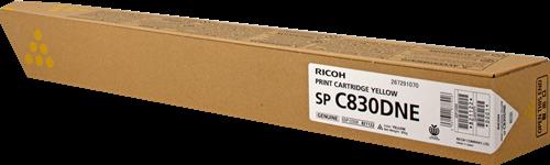 Принт-картридж SPC830DNE Ricoh желтый