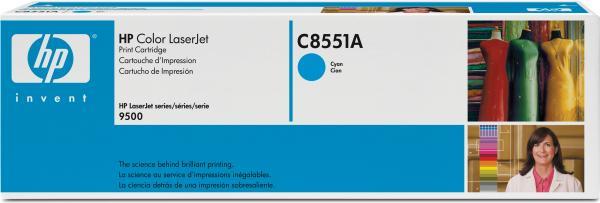 Картридж HP C8551A голубой оригинал