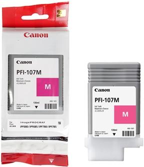 Картридж для Canon PFI-107 М пурпурный оригинальный