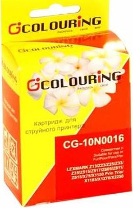 Картридж совместимый Colouring 10N0016 для Lexmark черный