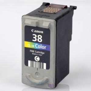Картридж совместимый SuperFine CL-38 трехцветный для CANON