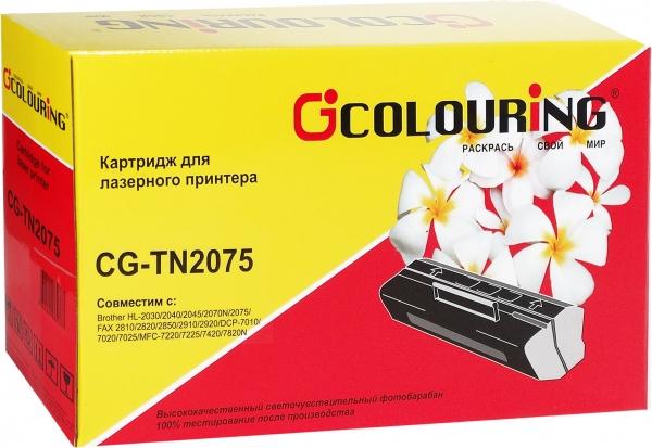 Картридж совместимый Colouring TN-2075 для Brother