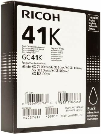 Картридж LE GC41K для Ricoh Aficio