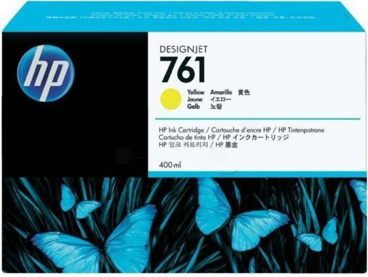 Картридж HP CR761A желтый тройная упаковка оригинальный