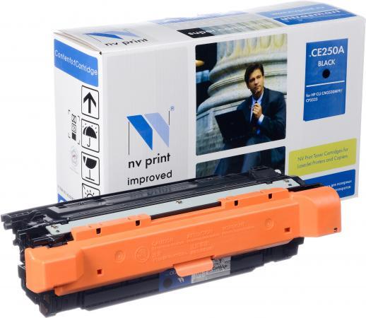 Картридж HP CE250A черный совместимый NV Print