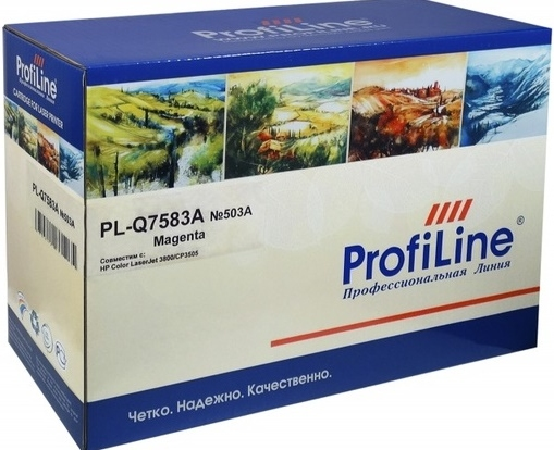 Картридж совместимый ProfiLine Q7583A пурпурный для HP
