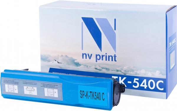 Картридж совместимый NVPrint TK-540 для Kyocera голубой