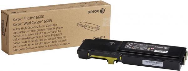 Картридж XEROX 106R02235 желтый оригинальный