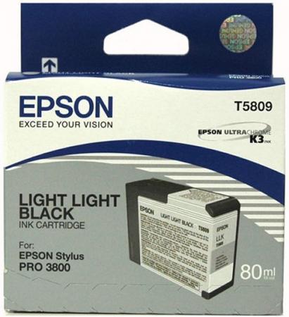 Картридж Epson C13T580900 светло-серый оригинальный