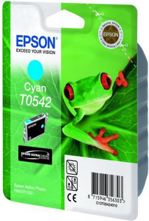 Картридж EPSON T054240 голубой оригинальный