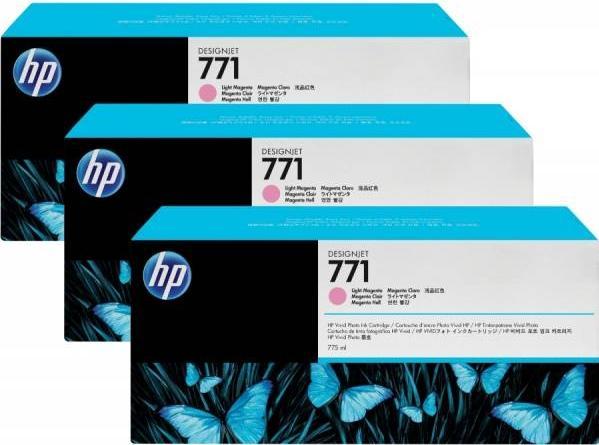 Картридж HP CR254A светло-пурпурный оригинальный тройная упаковка