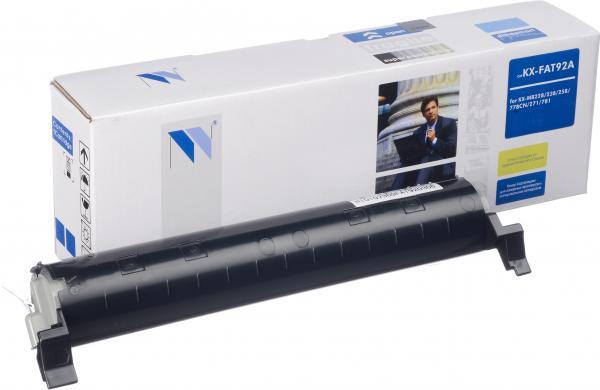Тонер-картридж совместимый NV Print KX-FAT92A для Panasonic