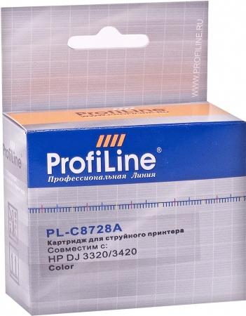 Картридж совместимый ProfiLine C8728A для HP Color