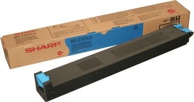 Картридж Sharp MX27GTCA голубой оригинальный