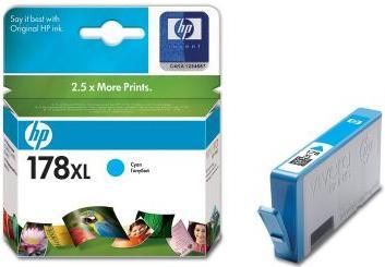 Картридж HP CB323HE голубой оригинальный