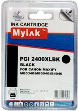 Картридж совместимый MyInk PGI-2400XLBK черный для Canon