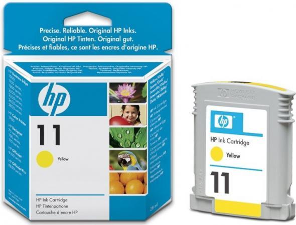 Картридж HP C4838AE желтый оригинальный
