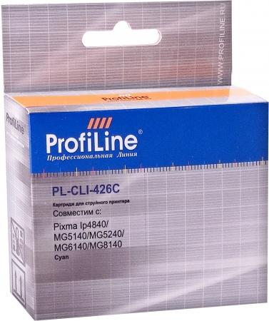 Картридж совместимый ProfiLine CLI-426C для Canon голубой с чипом