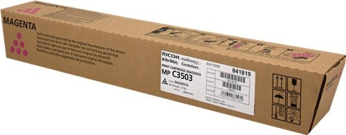 Тонер-картридж MPC3503 для Ricoh малиновый
