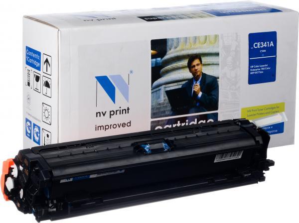 Картридж совместимый NV Print CE341A для HP