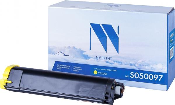 Картридж совместимый NVP S050097 желтый для Epson