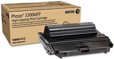Картридж Xerox 106R01412 черный оригинальный