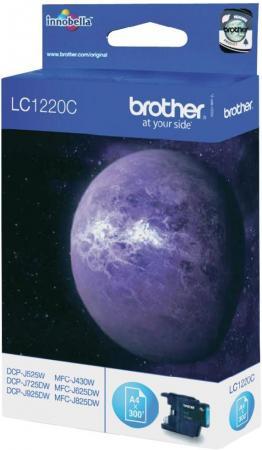 Картридж Brother LC1220C голубой оригинальный