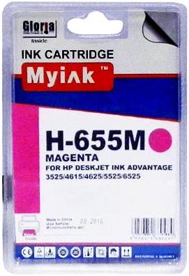 Картридж совместимый MyInk CZ111AE красный для HP