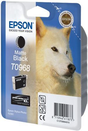 Картридж EPSON T09684010 матовый черный оригинальный