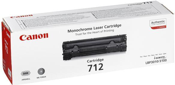Картридж Canon Cartridge 712 оригинальный