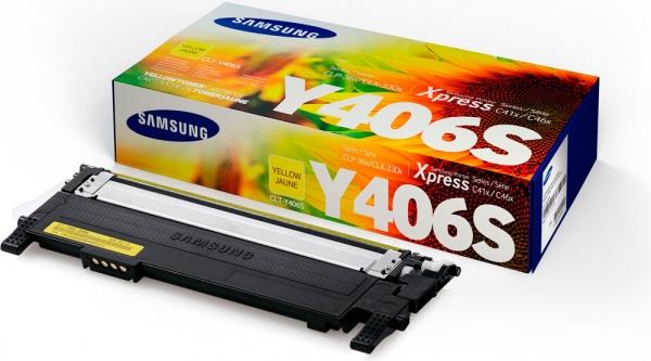 Картридж Samsung CLT-Y404S желтый оригинальный