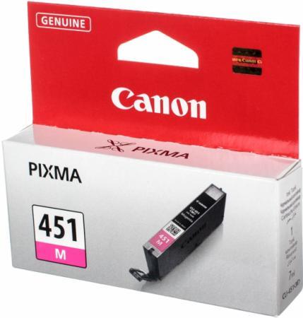 Картридж CANON CLI-451M XL пурпурный оригинальный